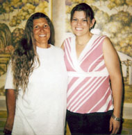 Connie Keel and Her Daughter - Courtesy Keel Family