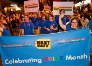 Best Buy Austin Gay Pride Parade - Statesman
