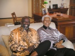 Chris Gardner and Nelson Mandela