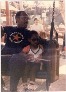 Chris Gardner and Son 1984
