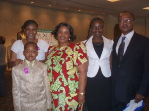 John Mohinga and Wife (with family) become Citizens in Austin 6/20/09 - Credit: KUT's Erika Aguilar