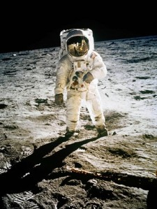 Buzz Aldrin on Moon 7/20/69 - NASA Photo by Neil Armstrong