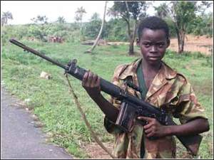 Sierra Leone Child Soldier - Credit: Foreign Policy Assn