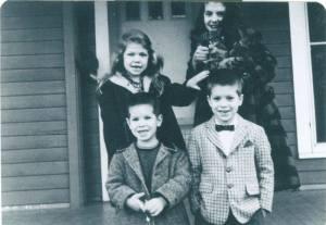 Me and My Siblings in Summer 1962