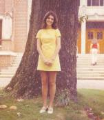 Diane Beeler at Agnes Scott College around 1971