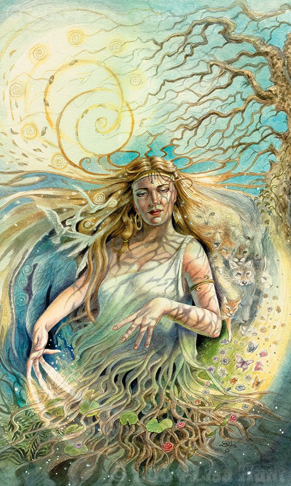 Meditate on gaia gaia is calling Goddess of nature greek