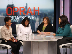 Sherrie, Donna, Angela, and Oprah - Credit: Oprah.com